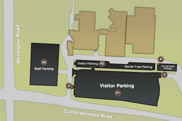 LRCP Parking Map